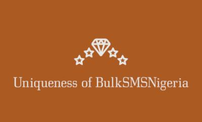BulkSMSNigeria and its uniqueness.
