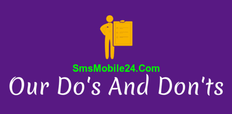 The Do's And Don'ts that guide the activities on our bulk SMS platform.